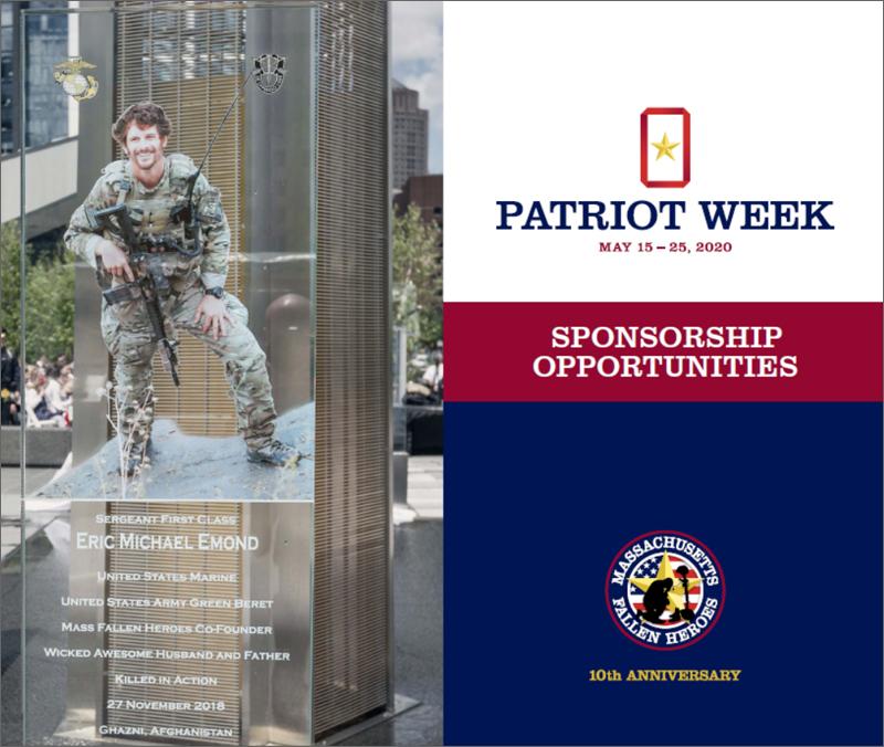 Patriot Week Sponsorship Opportunities