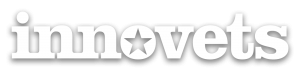 InnoVets (white logo with shadow)