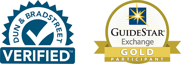 dun & bradstreet verified + guidestar exchange gold participant